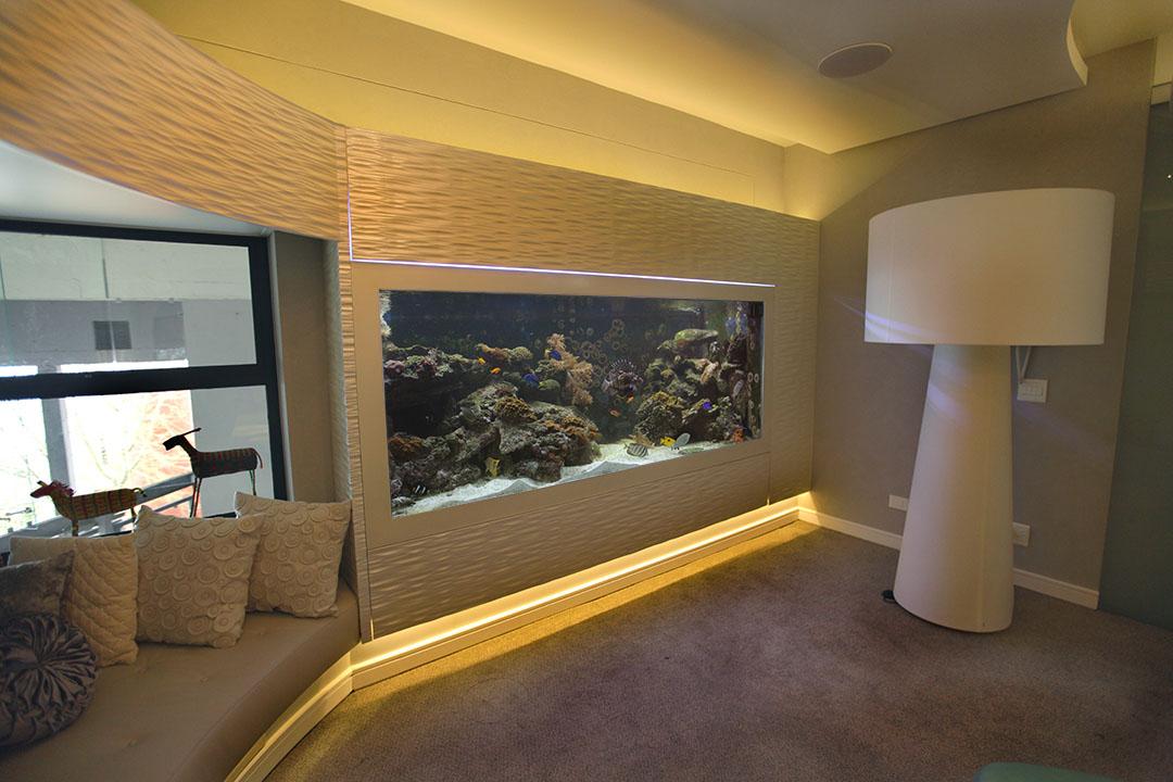 custom aquarium lounge house